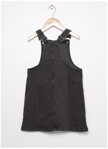 Limon Company Limon Siyah Kız Çocuk Elbise Siyah